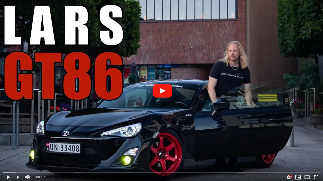 RedZone Lars GT86 YouTube